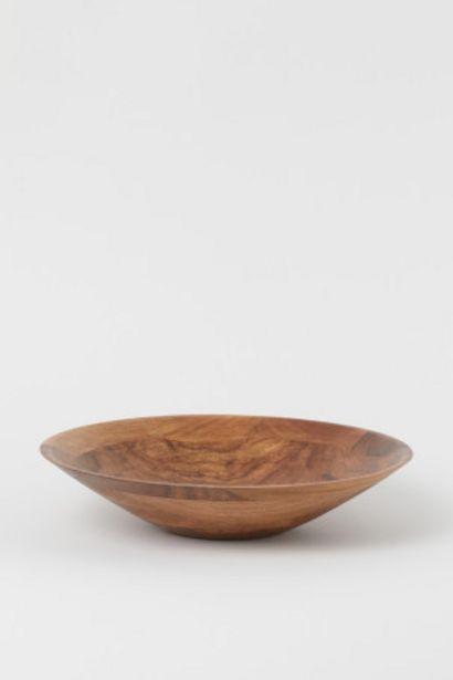 Oferta de Cuenco grande de madera por 32,99€