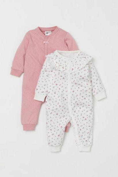 Oferta de Pack de 2 pijamas enteros por 9,99€