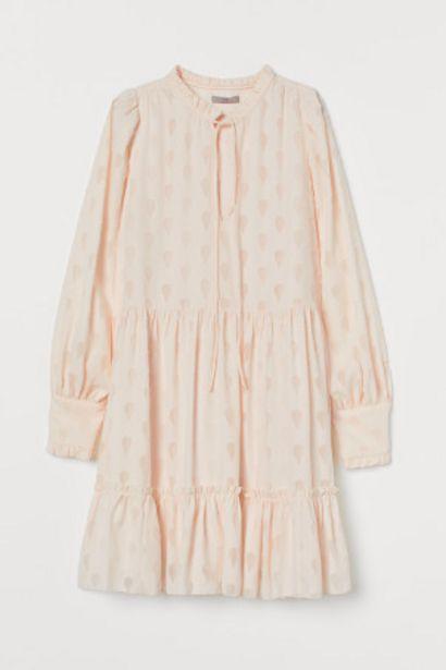 Oferta de Vestido amplio de gasa por 19,99€