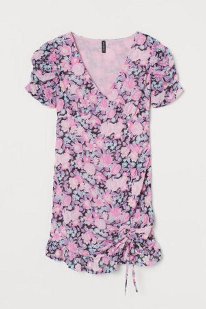 Oferta de Vestido drapeado de gasa por 8,99€
