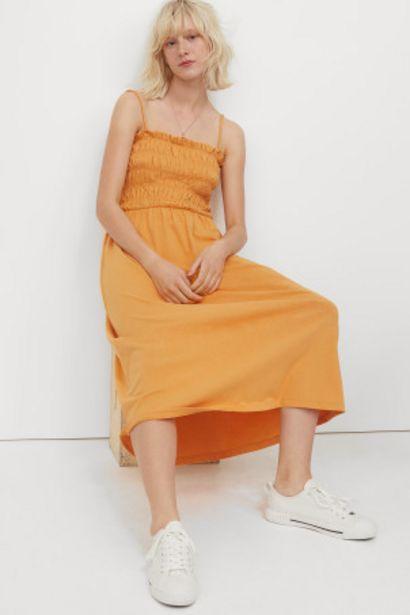 Oferta de Vestido con cintura fruncida por 8,99€