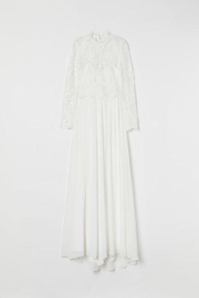 Oferta de Vestido de novia de encaje por 89,99€