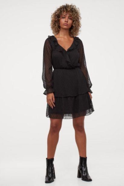 Oferta de Vestido en gasa de plumeti por 14,99€
