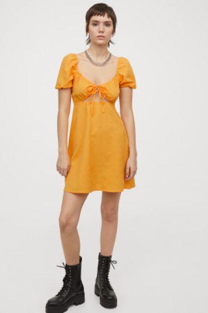 Oferta de Vestido con manga puffy por 6,99€