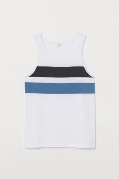 Oferta de Camiseta sin mangas con motivo por 2,99€
