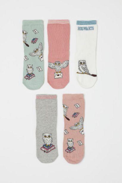 Oferta de Pack de 5 calcetines por 3,99€