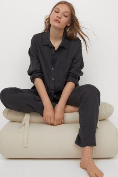 Oferta de Pijama en lino lavado por 34,99€