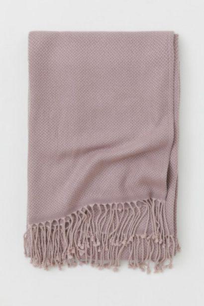 Oferta de Manta en tejido jacquard por 10,99€
