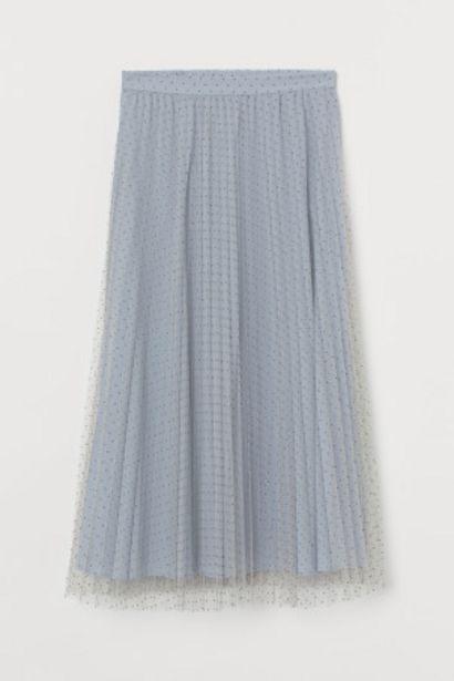 Oferta de Falda plisada de tul por 13,99€