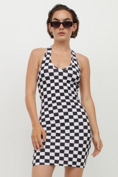 Oferta de Vestido con escote halter por 5,99€