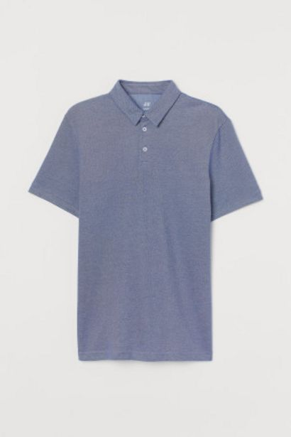 Oferta de Polo COOLMAX® Slim Fit por 5,99€
