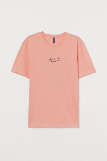 Oferta de Camiseta con estampado por 3,99€