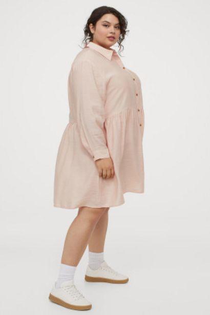 Oferta de H&M+ Vestido camisero por 10,99€