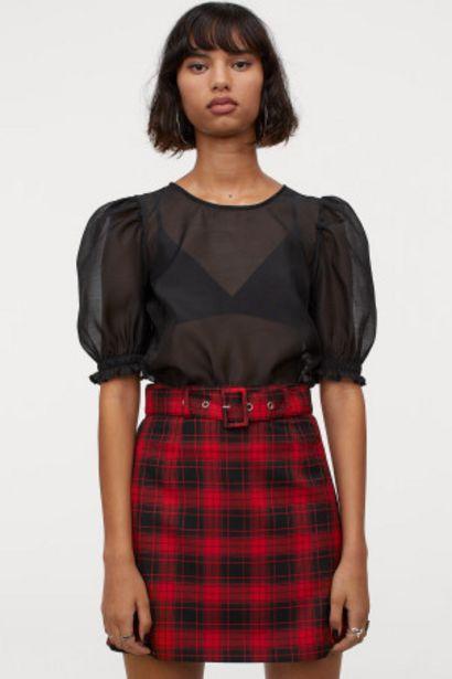 Oferta de Falda corta con cinturón por 5,99€