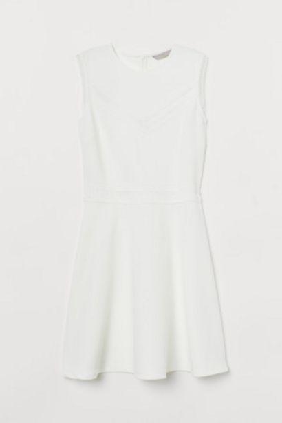 Oferta de Vestido con ribete de encaje por 12,99€