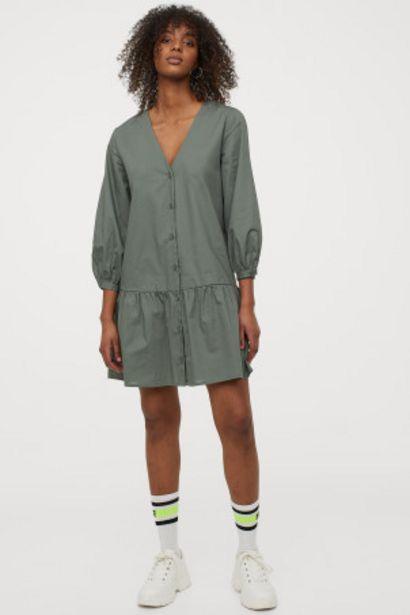 Oferta de Vestido con escote de pico por 9,99€