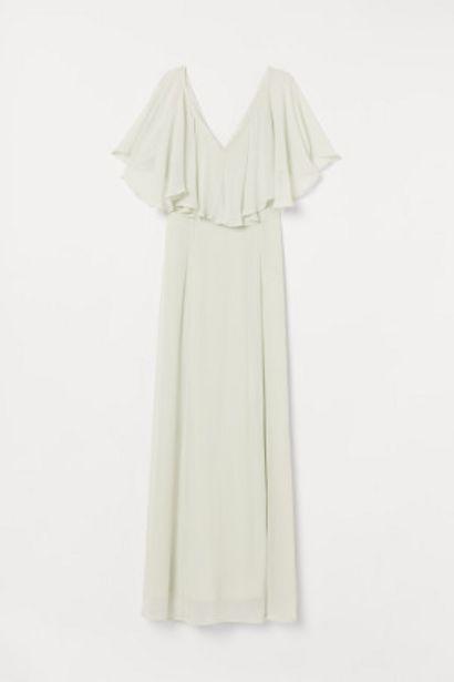 Oferta de Vestido largo de gasa por 34,99€