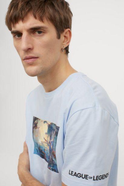 Oferta de Camiseta Regular Fit por 4,99€