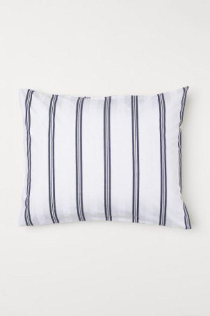 Oferta de Funda de almohada en algodón por 6,99€