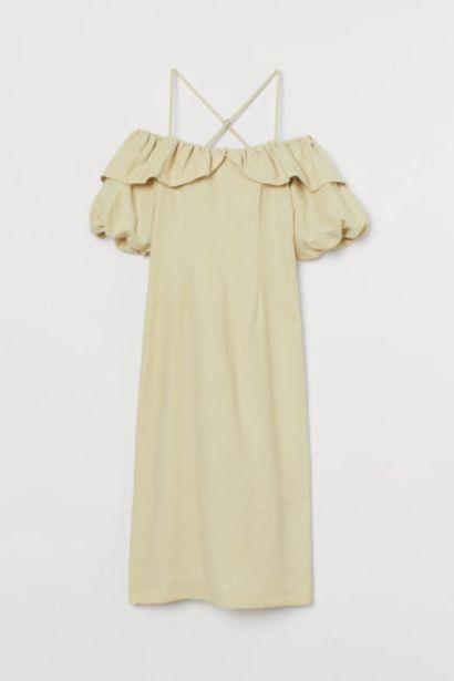 Oferta de Vestido en mezcla de lyocell por 19,99€