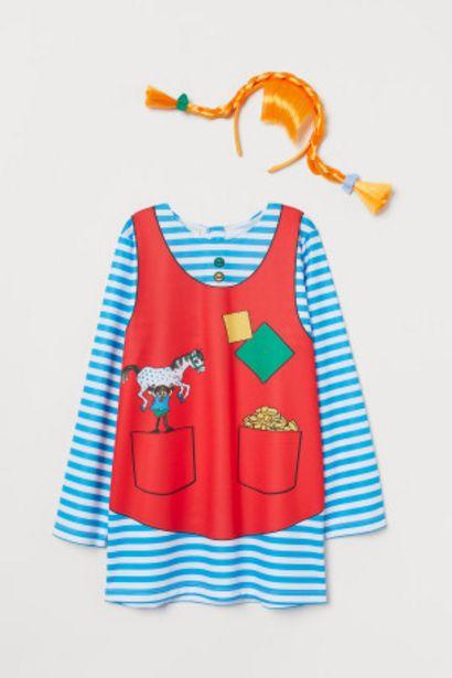 Oferta de Disfraz de Pippi Calzaslargas por 6,99€