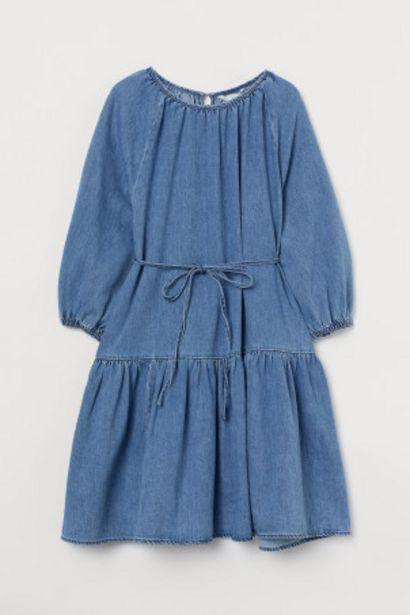 Oferta de MAMA Vestido denim por 12,99€