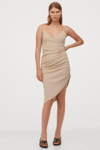Oferta de Vestido drapeado de punto por 10,99€