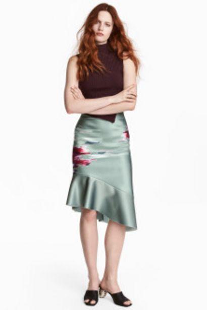 Oferta de Falda de seda no tejida por 24,99€
