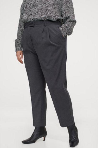 Oferta de H&M+ Pantalón tobillero por 9,99€