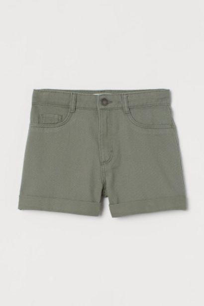 Oferta de Pantalón corto de sarga por 3,99€
