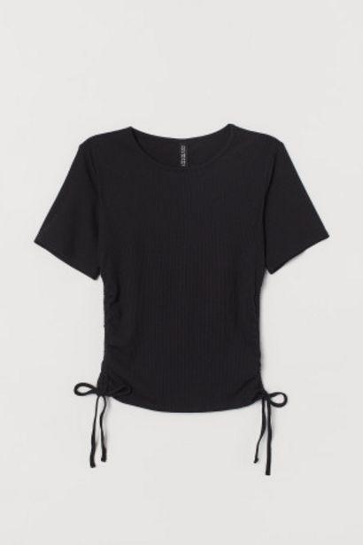 Oferta de Camiseta de canalé por 2,99€