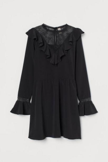 Oferta de Vestido con encaje por 16,99€