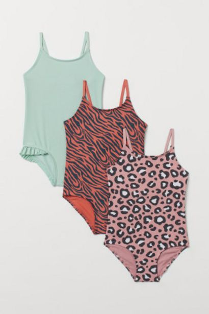 Oferta de Pack de 3 trajes de baño por 13,99€