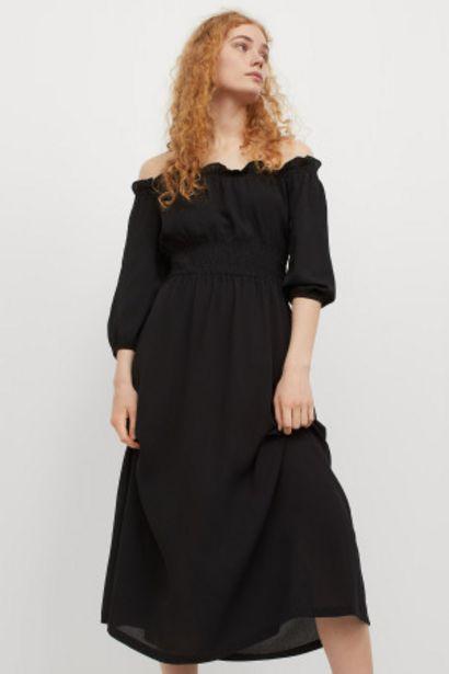 Oferta de Vestido off-the-shoulder por 11,99€