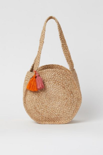 Oferta de Bolsa de playa de yute por 10,49€