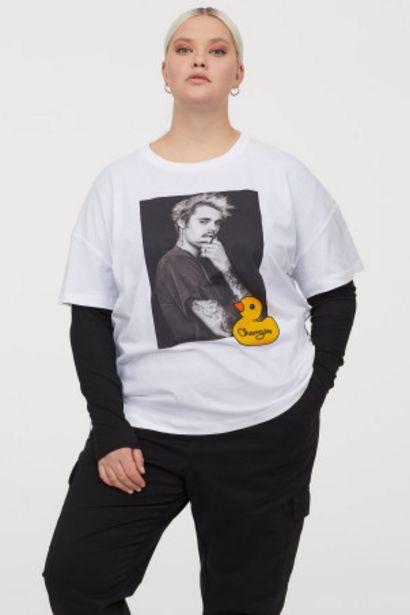 Oferta de H&M+ Camiseta con estampado por 4,99€