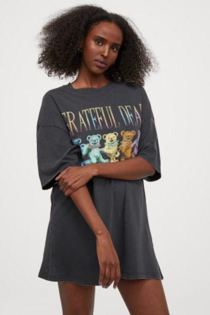 Oferta de Camiseta oversize por 6,99€