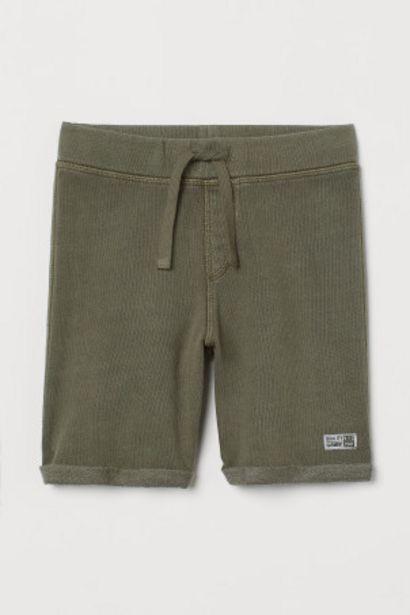 Oferta de Pantalón corto en sudadera por 3,99€