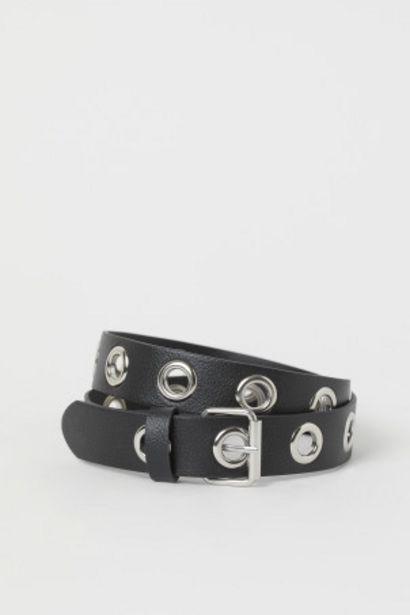 Oferta de Cinturón con ojales por 3,99€