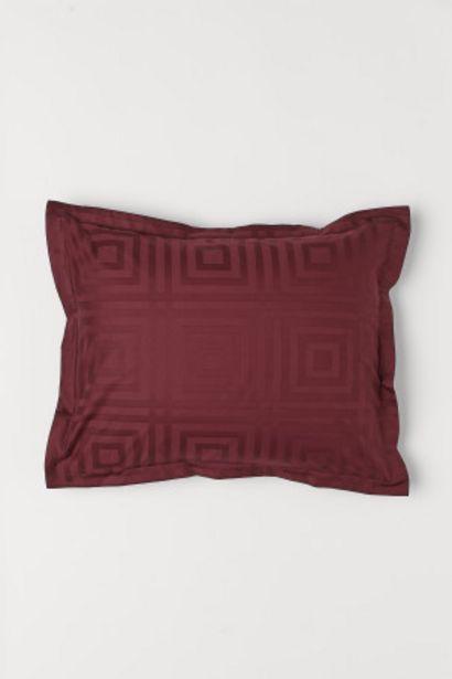 Oferta de Funda de almohada en jacquard por 4,99€
