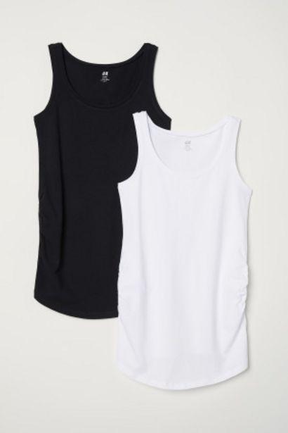 Oferta de MAMA 2 camisetas de tirantes por 3,99€