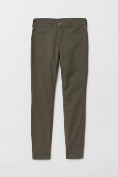 Oferta de Skinny Regular Ankle Jeans por 2,99€