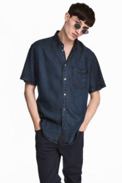 Oferta de Camisa manga corta Regular fit por 12,99€