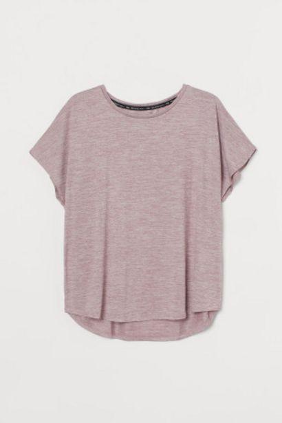 Oferta de H&M+ Camiseta de deporte por 4,99€
