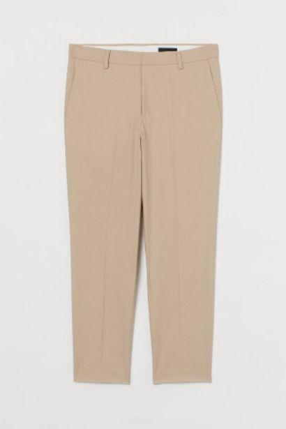 Oferta de Pantalón de traje Slim Fit por 12,99€