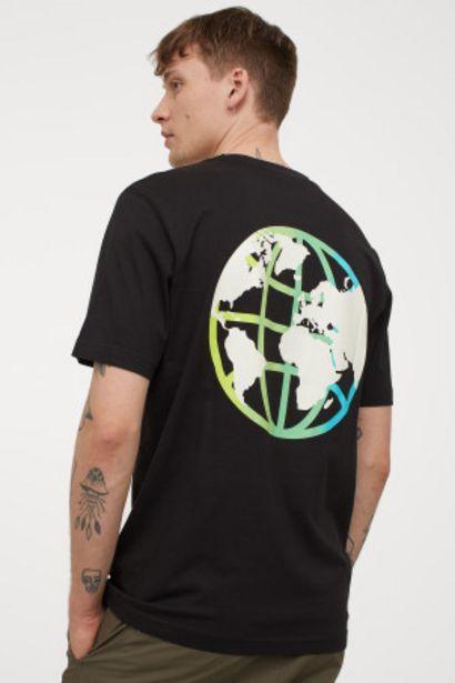 Oferta de Camiseta con motivo estampado por 4,99€