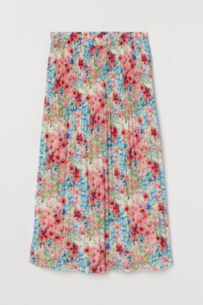Oferta de H&M+ Falda plisada por 12,99€
