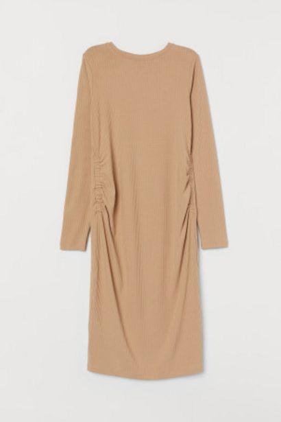 Oferta de MAMA Vestido de canalé por 10,99€