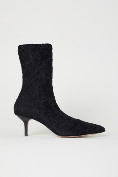 Oferta de Salones calcetín de encaje por 29,99€