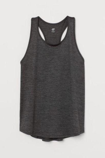 Oferta de Camiseta de deporte sin mangas por 6,99€